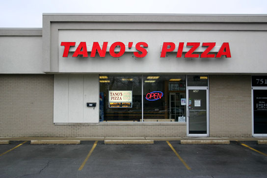 Tano's Pizza Waterville